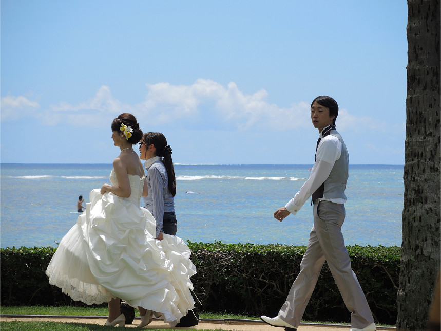Pacific Matrimony: Leaving the Wedding (2015)