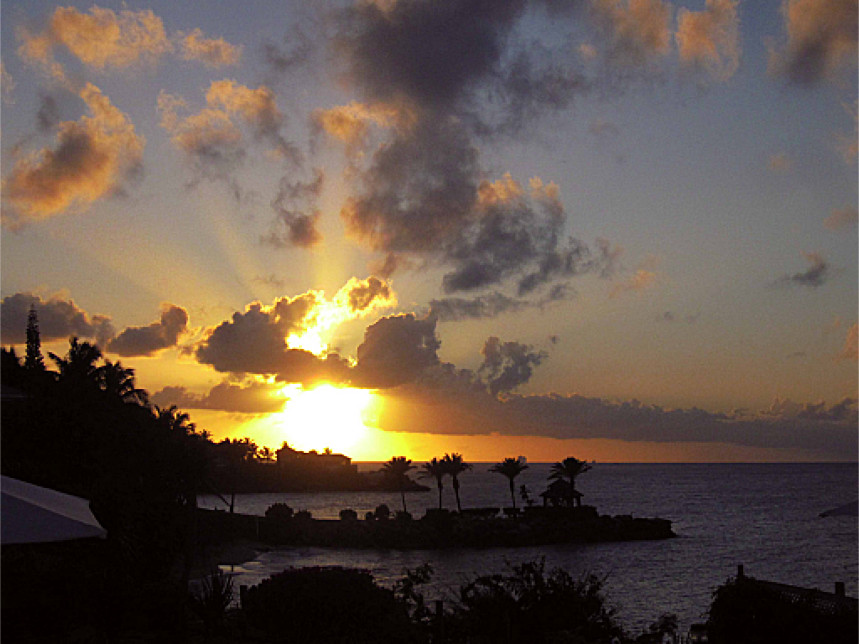 Caribbean Sunset (Antigua, 2012)