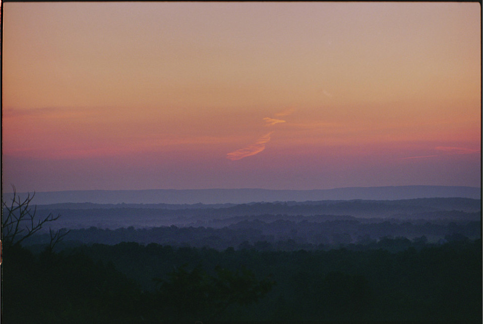 Painterly Sunset (Canonsburg, PA, 1994)
