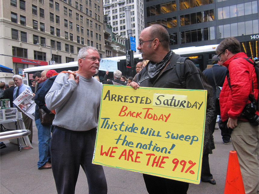 Occupy Wall Street: We Are the 99% (Manhattan, 2011)